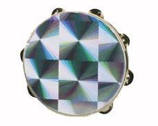 ***CLOSEOUT*** Remo 6″ Prism Tambourine (WMC-TA4106-45)