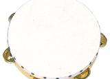 Plastic Rim Tambourines (RB925-926)