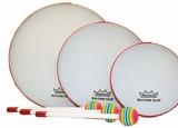 Remo Rhythm Club Hand Drums – 6″ $6.85 / 8″ $8.00 / 10″ $11.50 / Set of all 3  $22.50