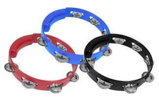 8″ Plastic Tambourine (WMC-TA7102)