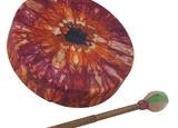 Bodhran Drum – Tie Dye 12″